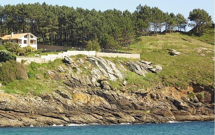Villa en frente del mar