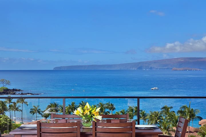 APRIL SAVINGS:VACATION IN YOUR OWN PRIVATE MAUI PARADISE! Sandy Surf K508 Top Floor, Ocean View!