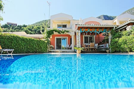 Villa Blue by Barbati Beach - Corfu - Villa