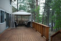 private space to enjoy the great outdoors!