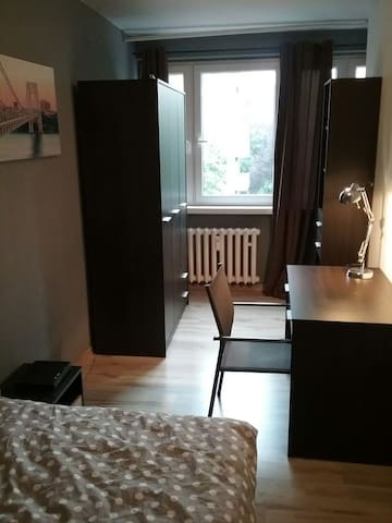 Cosy bedroom in Wrocław centre - Breslavia - Apartamento