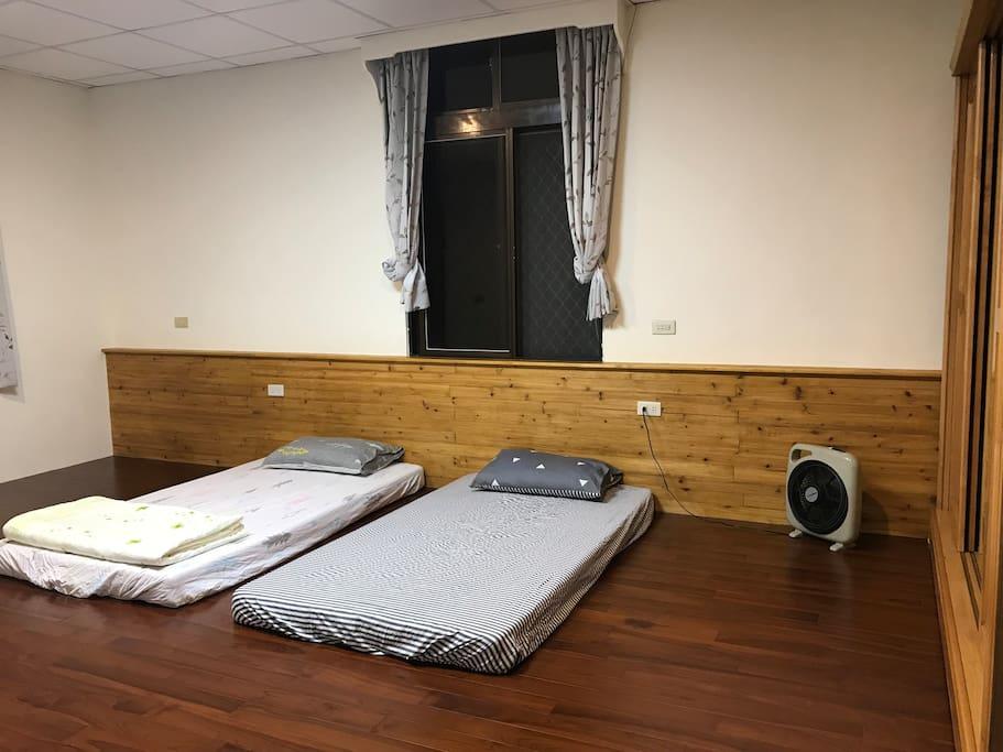 乾淨舒適的睡眠空間