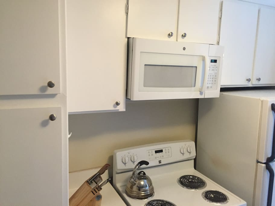 Kitchen will all amenities needed!