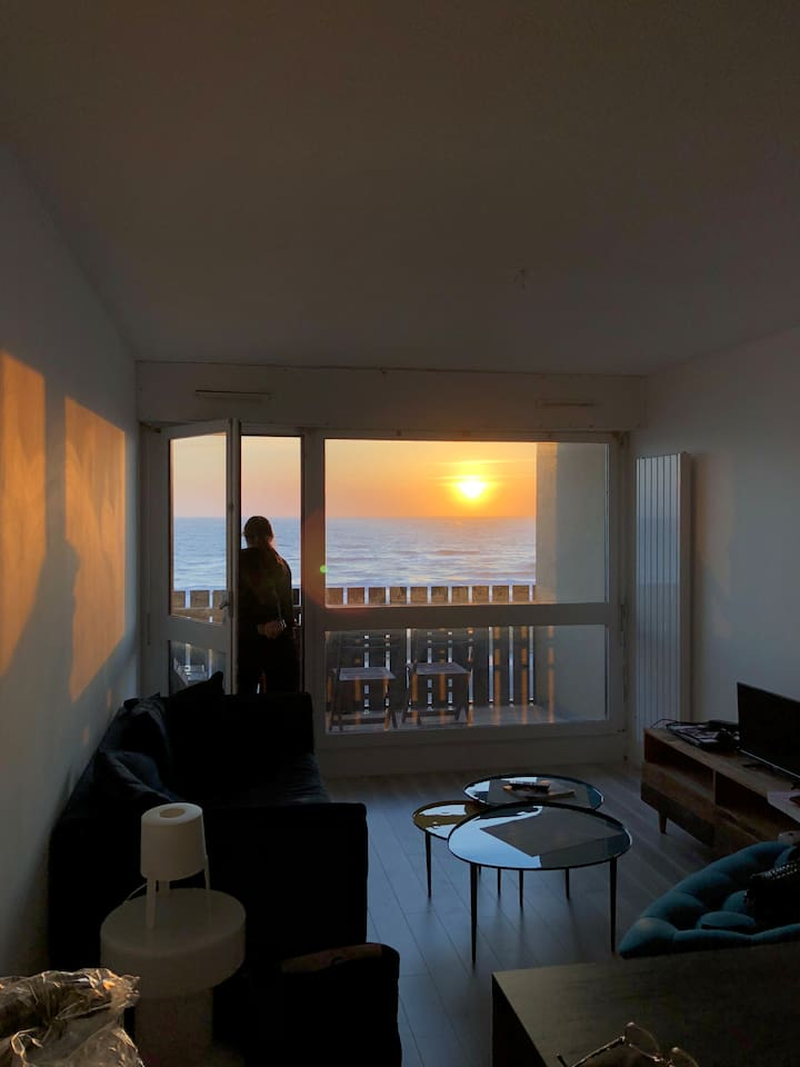Emplacement unique pour les Sunset lovers