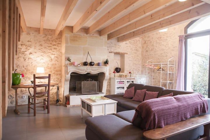 Le petit havre du Larrec - Pujols-sur-Ciron - Dům