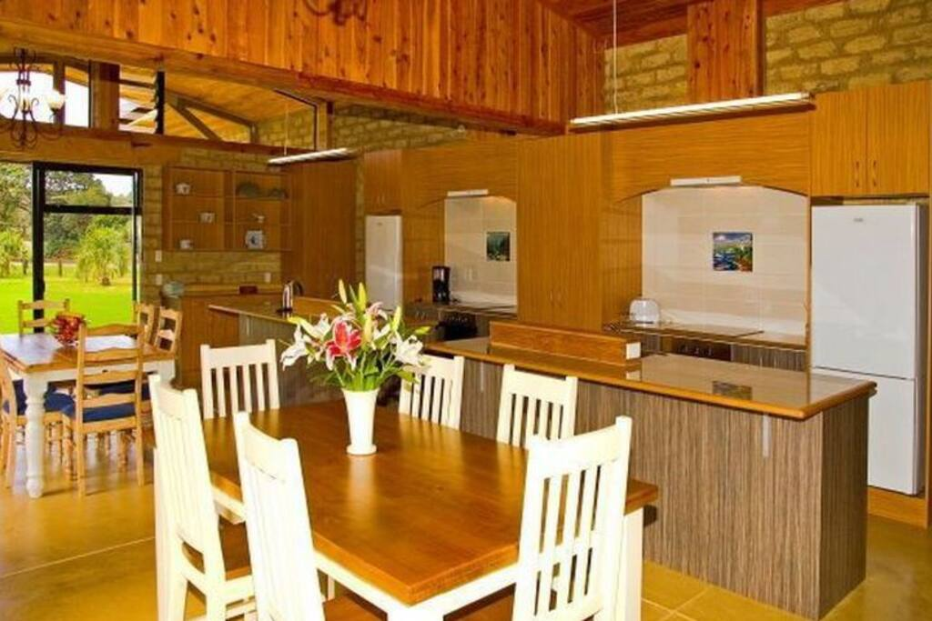 Kitchen and Dining - Matapouri Holiday Home