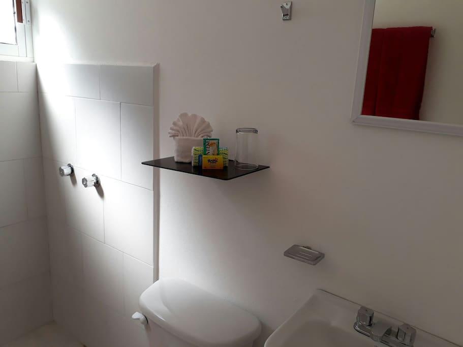 Baños propio en cada estudio