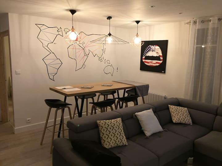 Appartement T3 Lumineux et Chaleureux Hyper centre