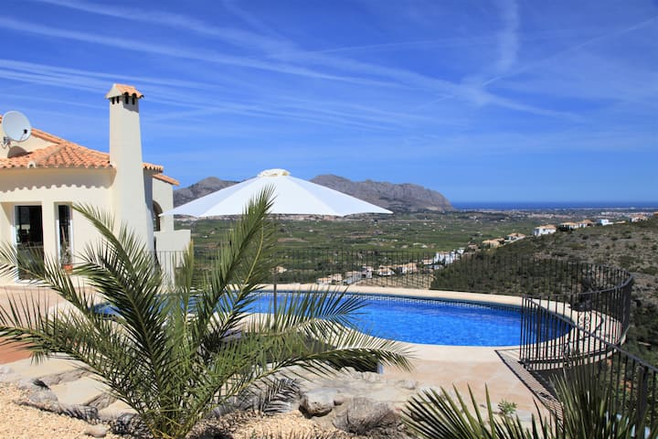 AMAZING VILLA WITH STUNNING SEAVIEWS IN ORBA