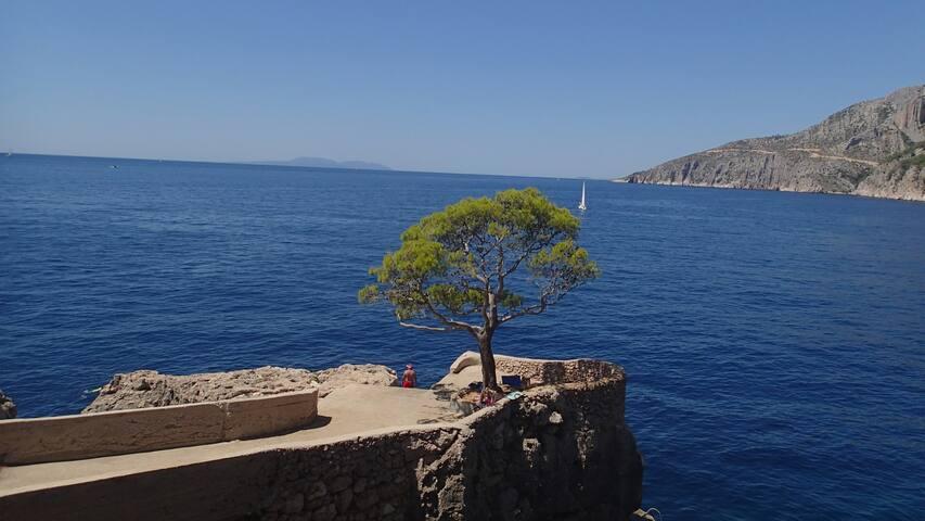 Soba uz more