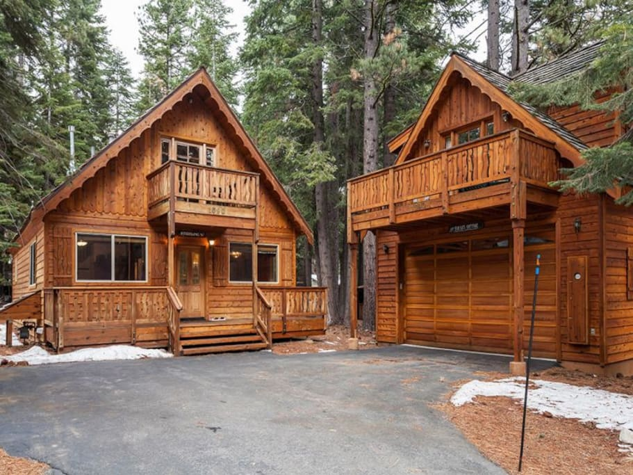 Willow cabins for rent in tahoe city california united for Tahoe city cabin rentals