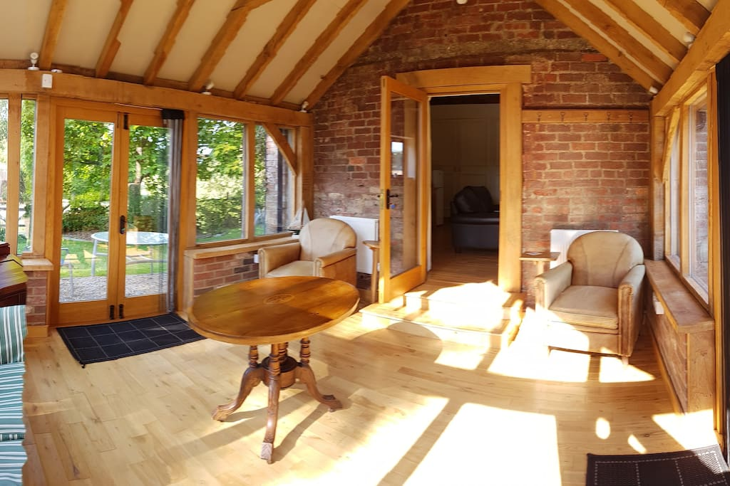 Garden/Reading room in idyllic, peaceful setting