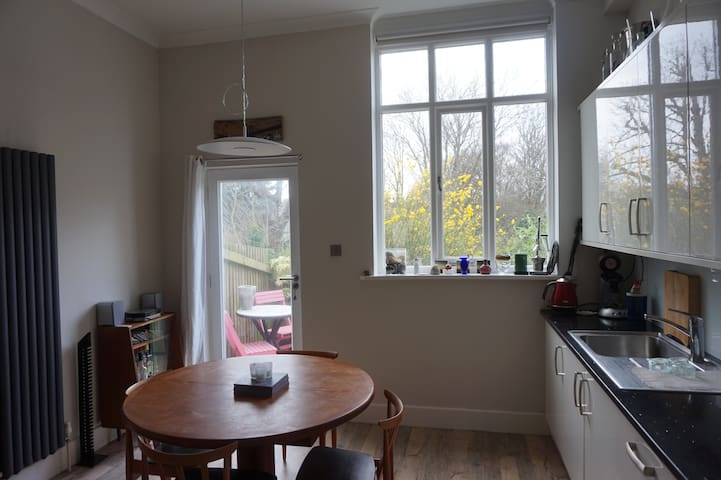 Church hall conversion in two double bedroom house - Steyning - House