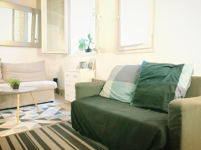 Cozy 22 m2 studio in the heart of Paris