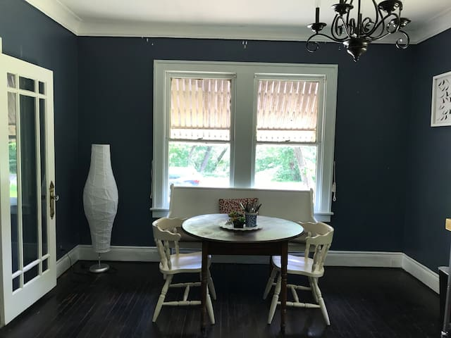 BLUE Guest Room w/ Private Bathroom