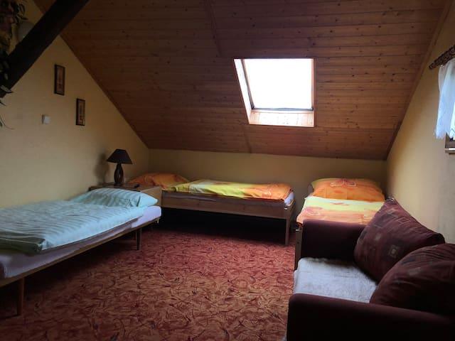 Malé ubytování v Dubnici