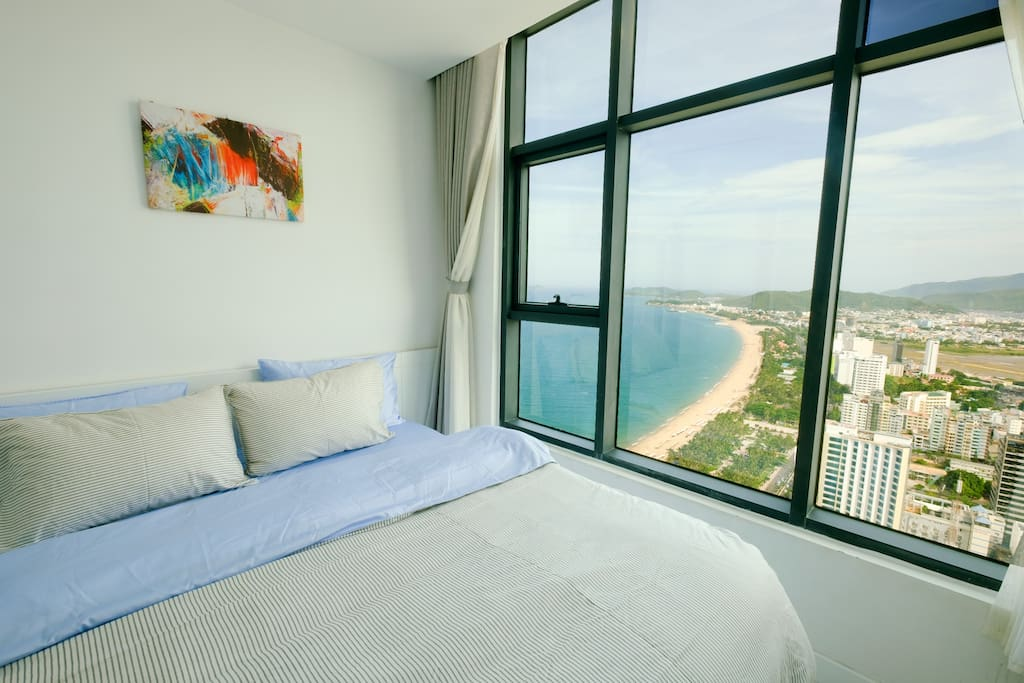 Bedroom 1 with Ocean View