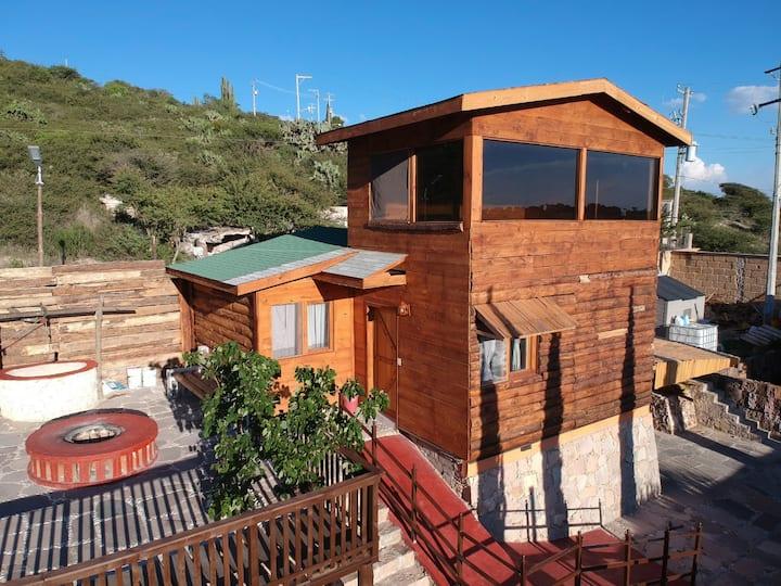 Cabaña inolvidable en Bernal (3)
