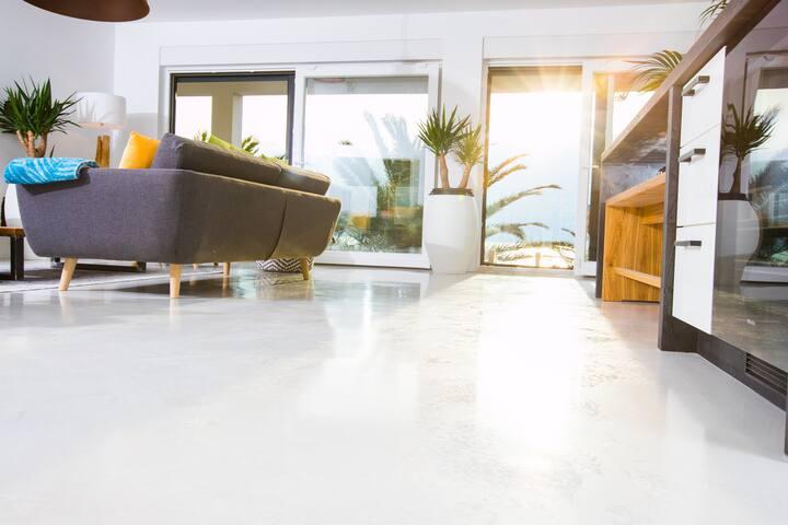 Wohn- und Essbereich im OG SunsetLoft 14