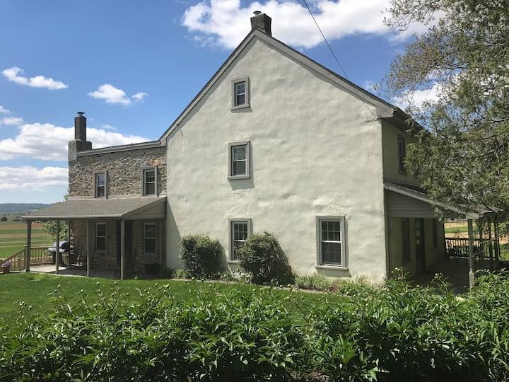 Historic Lancaster, PA Farmhouse