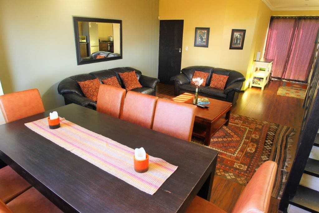 Dining Room & Lounge with Cable TV