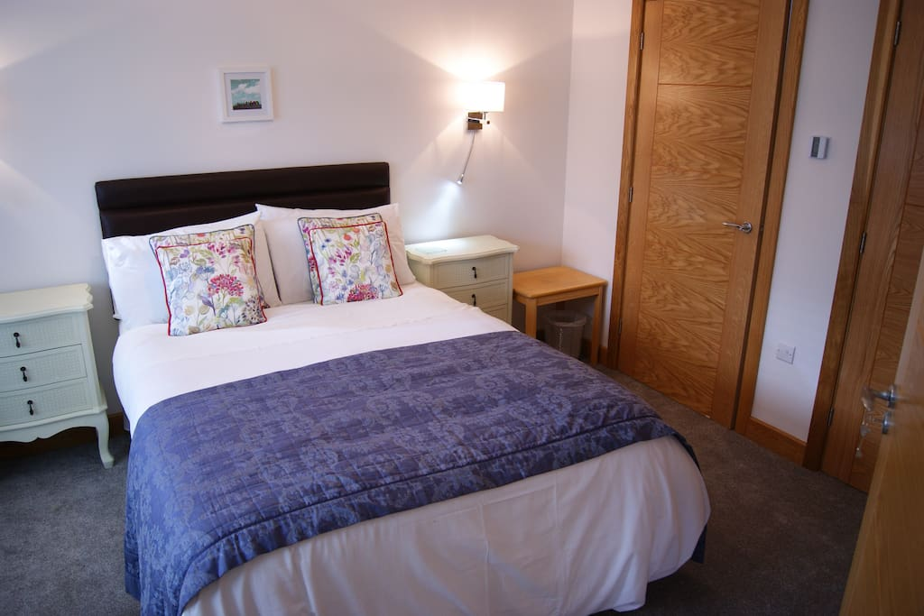 Double bedroom with en-suite bathroom.