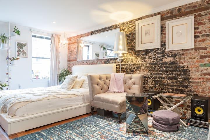 Charming East Village Studio