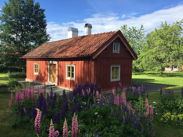 Nice cottage from the 18th century close to Gränna