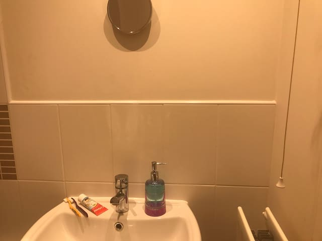 Private room in 2 bedroom flat with own bathroom