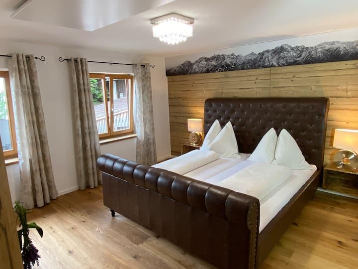 Ferienwohnung Dolomiten - Bergblick