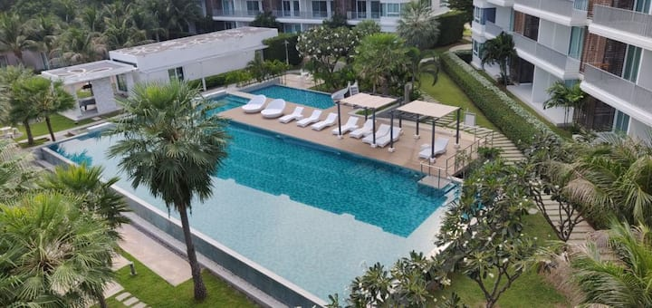 The Sea Condo B42@Dolphin Bay, Pranburi