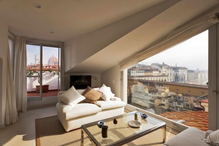 Luxury Ponte Vecchio terrace - Firenze - Apartment