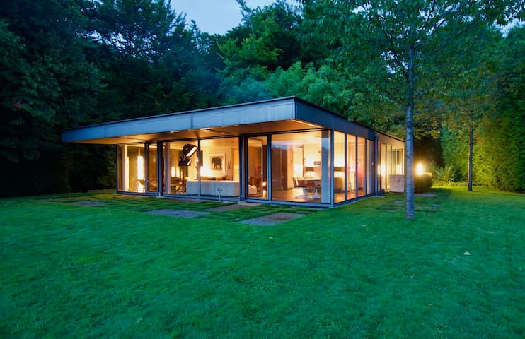Stunning villa in a private nature and vineyards