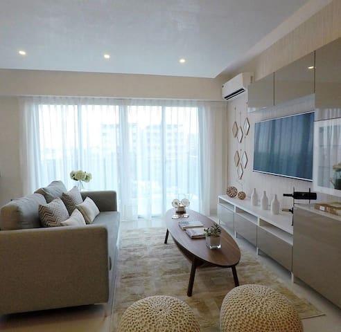 Moderno y confortable apartamento en Gascue
