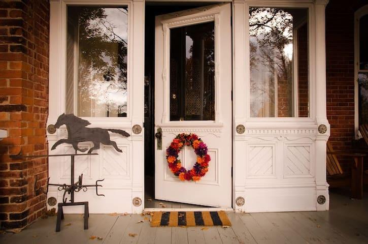 Original entrance to house