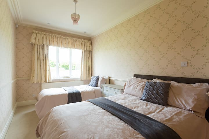 Bedroom 3 Double and Single Beds