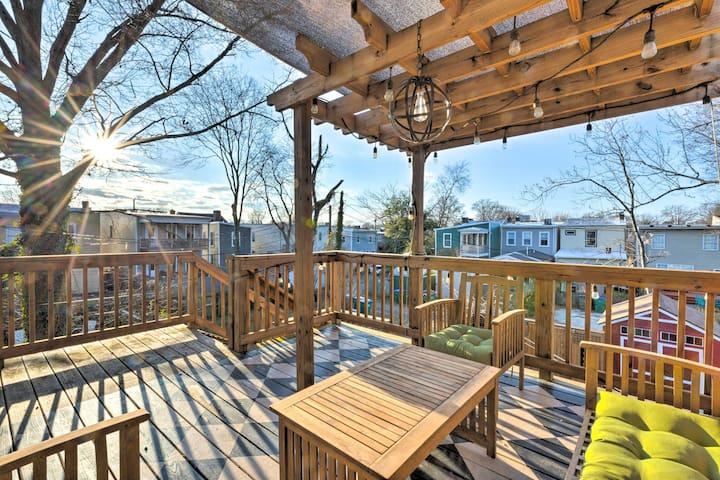 NEW! Chic Richmond Apartment with Deck and Patio!