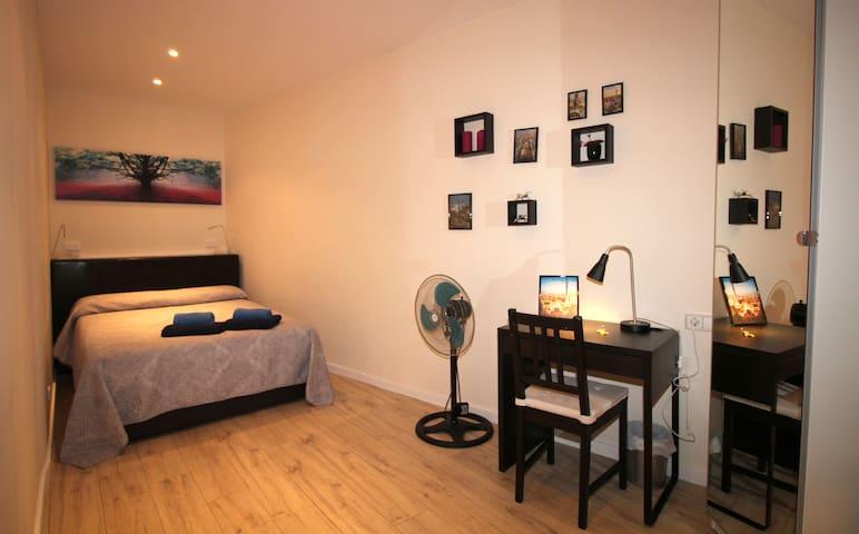 Amplia y cómoda habitación para 2
