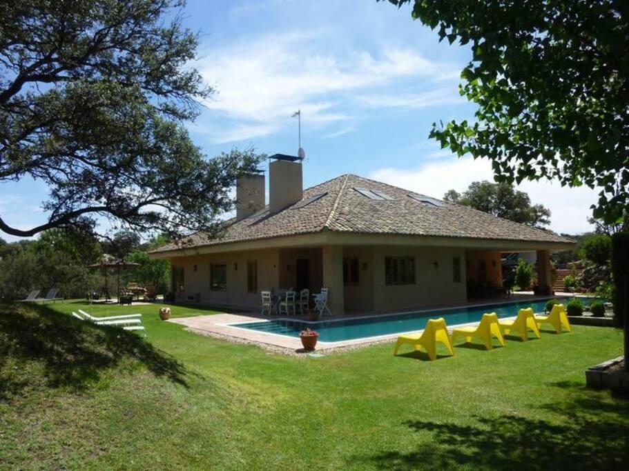 Las siete encinas casas de campo en alquiler en sevilla for Alquiler de casas en la juliana sevilla