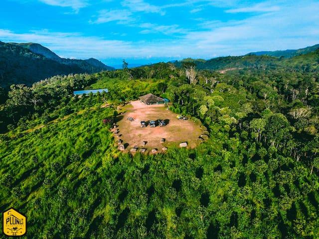 Plunge Adventures Pvt Ltd- Sathram Jungle Lodge - Manjumala - Maan sisään rakennettu talo