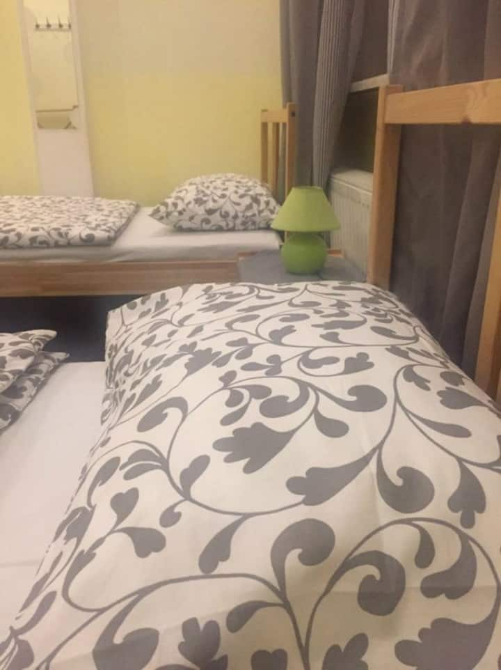 Bed in four-bed female room
