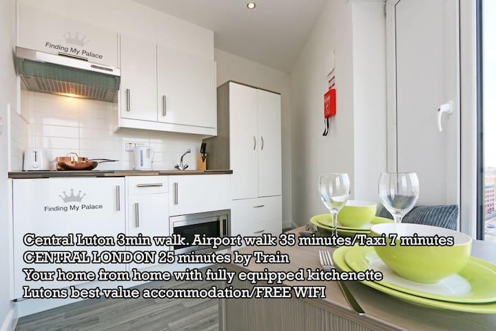 Luton Wonderful Bright Studio (4 - Luton - Apartamento