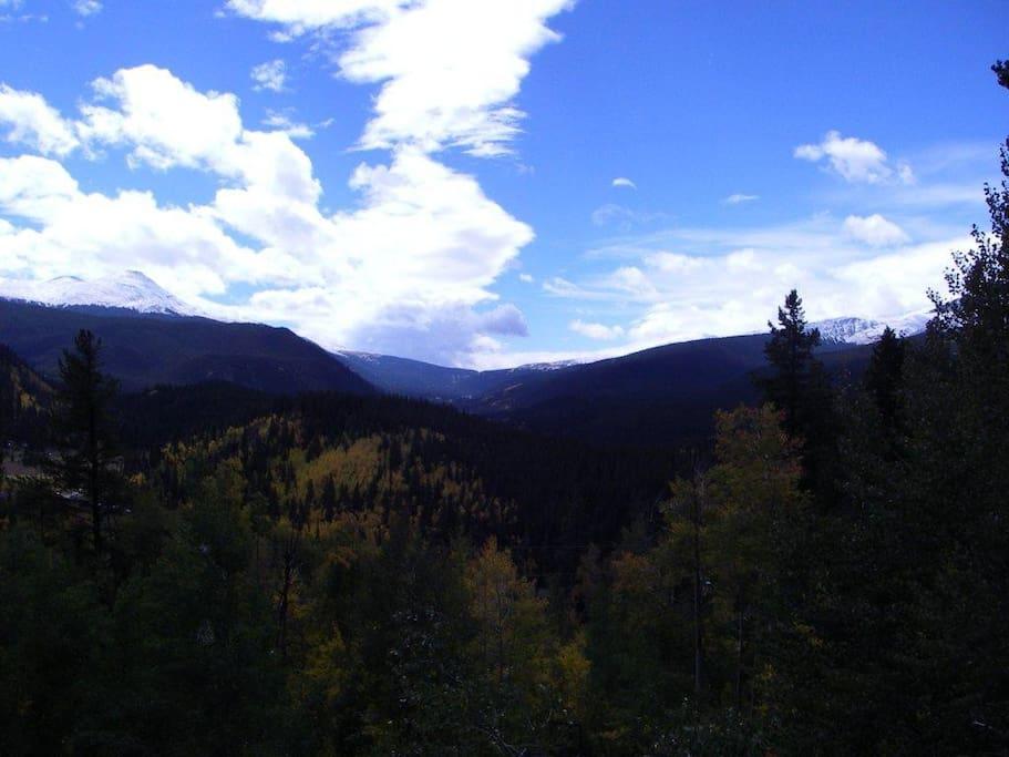 Continental Divide view (Hoosier Pass)