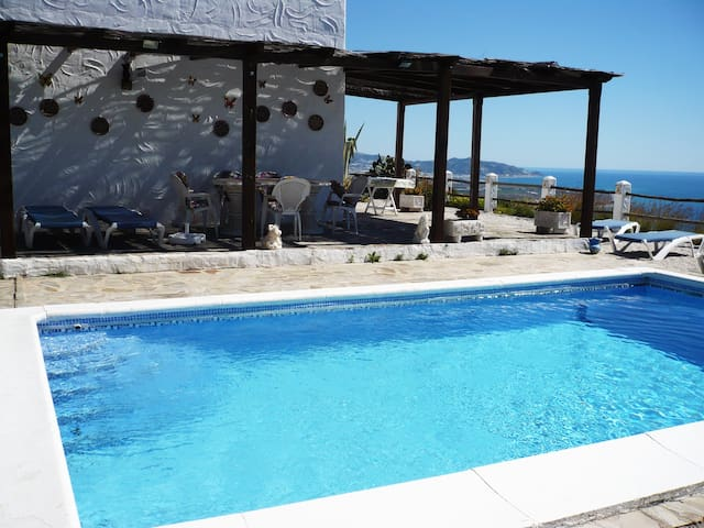 villa el paraiso  with wonderful  view to the sea