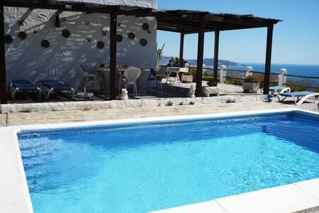 villa el paraiso  with wonderful  view to the sea