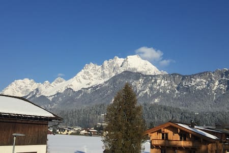 Luxury and sunny apartment with a spectacular view - Sankt Johann in Tirol