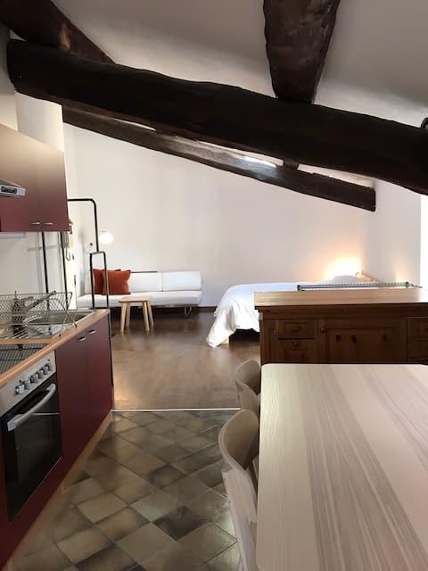Centrally located cozy loft