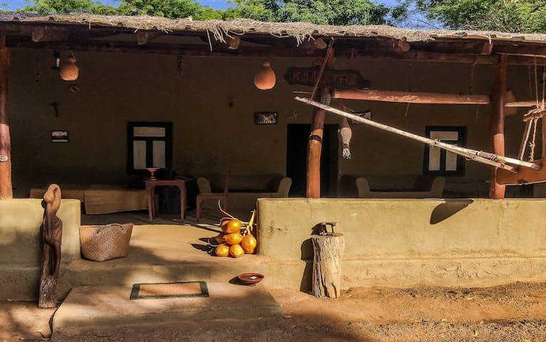 Kamatha Eco Lodge - Habarana - Habarana - Землянка