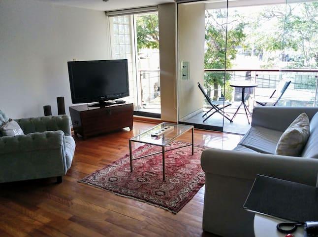 Cozy 1B flat with balcony in beautiful San Isidro