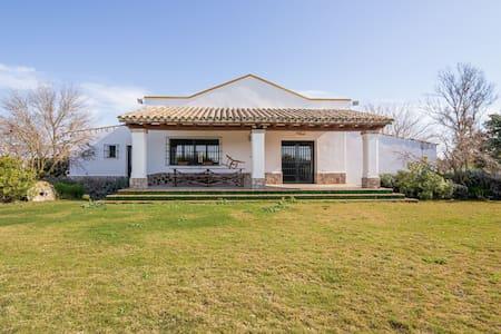 Waterfront Villa in Jerez de la Frontera with Fireplace